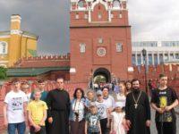10 июня дети воскресной школы Троицкого храма г. Сегежи с преподавателями  отправились в  паломническую поездку в г. Москву