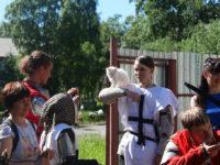 С 8 по 16 июля при Кемском мужском монастыре прошёл молодёжный лагерь «Молодёжный диалог»