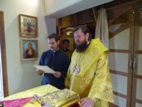 13 августа 2017 г.  епископ Костомукшский и Кемский Игнатий совершил Божественную литургию в г. Беломорске