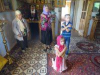 14 августа 2017 года, в празднество Всемилостивого Спаса, епископ Костомукшский и Кемский Игнатий совершил праздничную Литургию в храме великомученицы Варвары поселка Золотец Беломорского благочиния