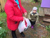Гуманитарная помощь многодетной семье