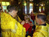 12 сентября 2017 года епископ Костомукшский и Кемский Игнатий совершил Божественную литургию в Покровском кафедральном храме г. Костомукши