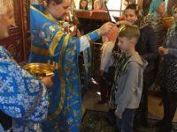 31 августа в Покровском храме г. Костомукши по окончании Божественной литургии был отслужен молебен «На учение отроков»