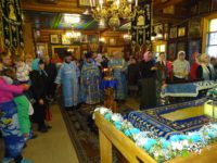 3 сентября в Покровском соборе г. Костомукши по окончании Божественной Литургии была отслужена Лития по погибшим в результате террористического акта в 2004 году в г. Беслане