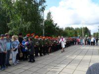 2 сентября 2017 года г. Костомукше состоялась акция «Свеча Памяти»