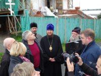 13 сентября епископ Костомукшский и Кемский Игнатий встретился с Главой Республики Карелии Артуром Парфенчиковым в г. Кеми