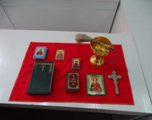 При содействии отдела социального служения и благотворительности Костомукшской епархии состоялось посещение Городской больницы г. Костомукши