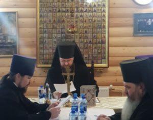 25 марта 2020 года в г. Костомукше состоялся епархиальный совет