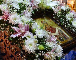 В праздник Покрова Пресвятой Богородицы епископ Борис совершил Литургию в Покровском кафедральном храме г. Костомукши