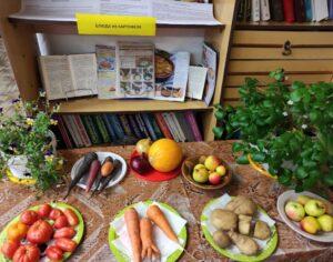 14 октября 2021 года иерей Виктор (Островский) принял участие в празднике урожая в библиотеке п. Летнереченский
